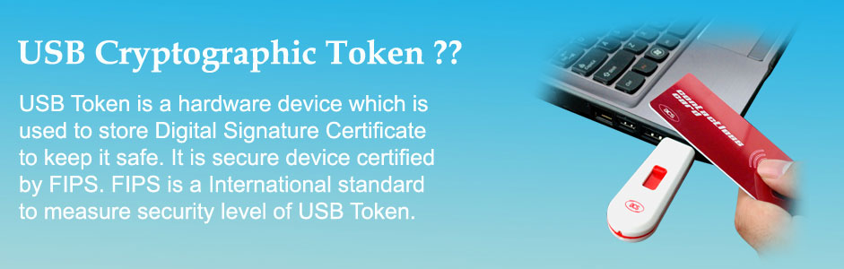 USB Cryptographic token